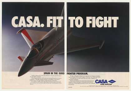 Casa Eurofighter Aircraft (1986)