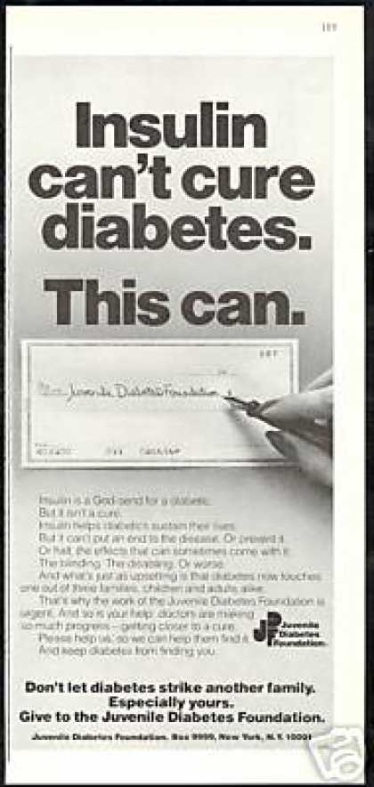 Juvenile Diabetes Foundation Insulin Check (1979)