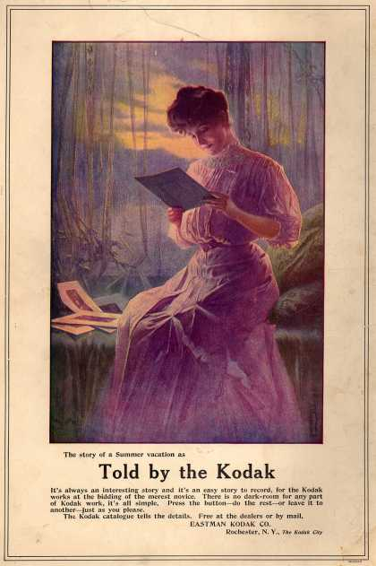 Kodak – The story of a Summer vacation as Told by the Kodak (1907)