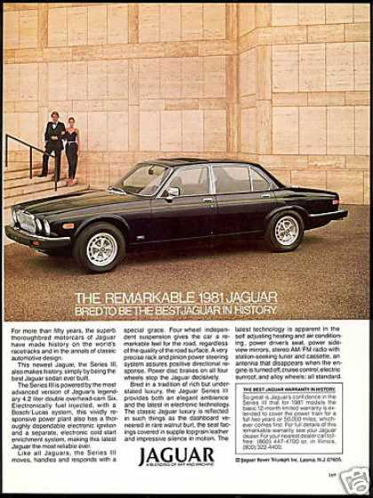 Jaguar Series III Car Best In History (1981)