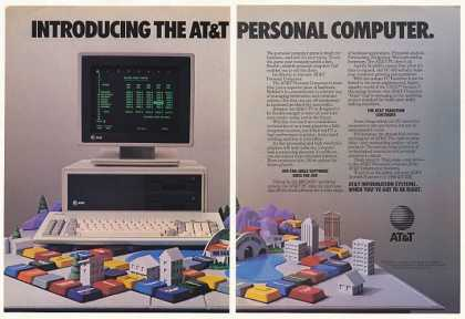 AT&T PC Personal Computer 3-Page (1984)