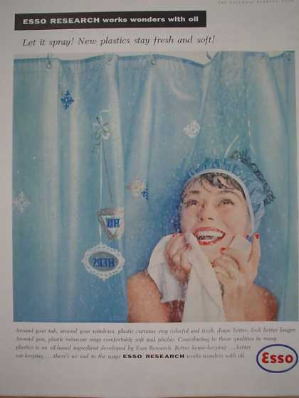 Esso Research Let it spray New plastics (1958)