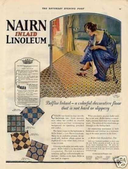 Nairn Linoleum Color (1925)
