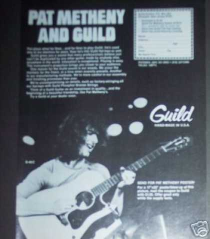Pat Metheny Guild Guitar (1979)