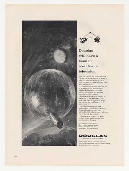 Douglas World-Wide Television Satellites Thor (1960)