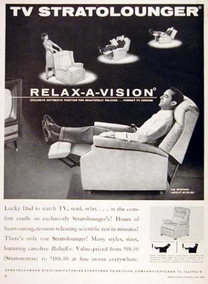 Stratolounger TV Chair (1960)