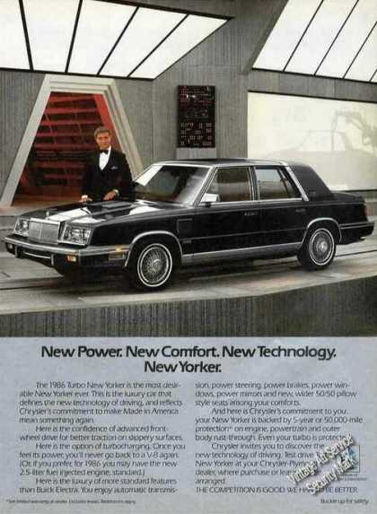 Chrysler New Yorker Ricardo Montalban Photo (1986)