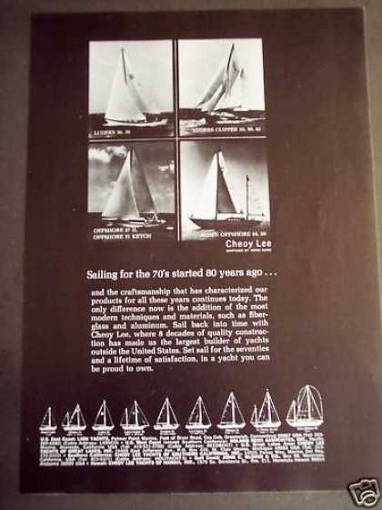 Cheoy Lee Yachts Luders Clipper Boat (1971)
