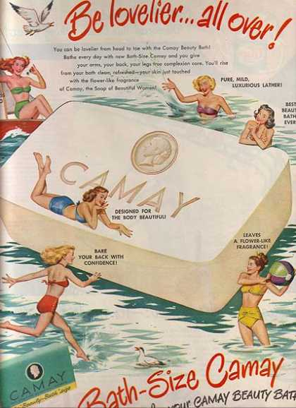Camay's Bath Soap (1949)
