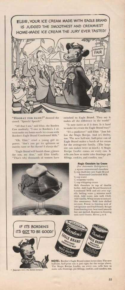 Bordens Egle Brand Sweetned Milk (1941)