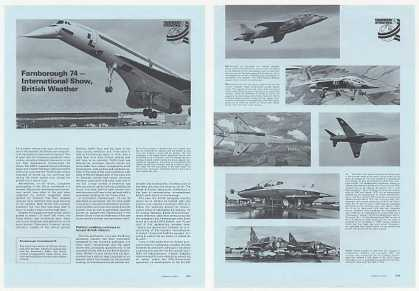 Farnborough International Air Show Photo Article (1974)