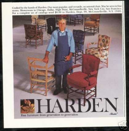 Harden Furniture Chair Photo (1986)
