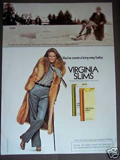 You've Come a Long Way, Baby Virginia Slims (1979)