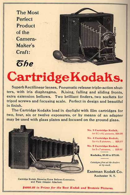 Kodak – The Cartridge Kodaks (1902)