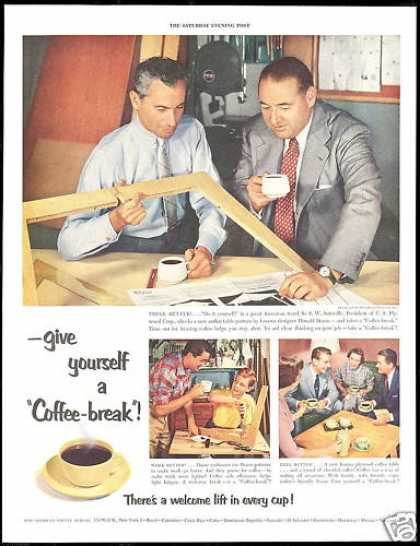 Pan American Coffee U.S Plywood Corporation (1954)