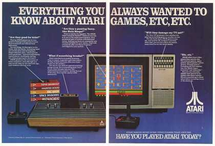 Atari Video Computer System Game (1982)