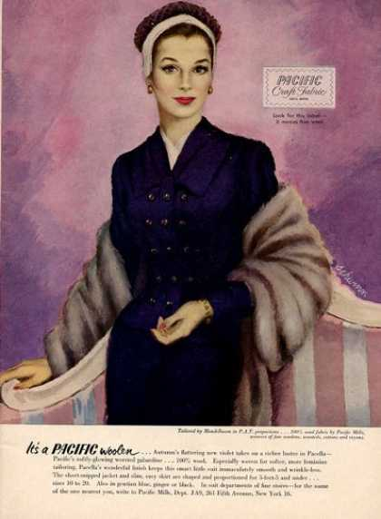 Mandelbaum Woolen Womens Fashion Suit Art (1951)