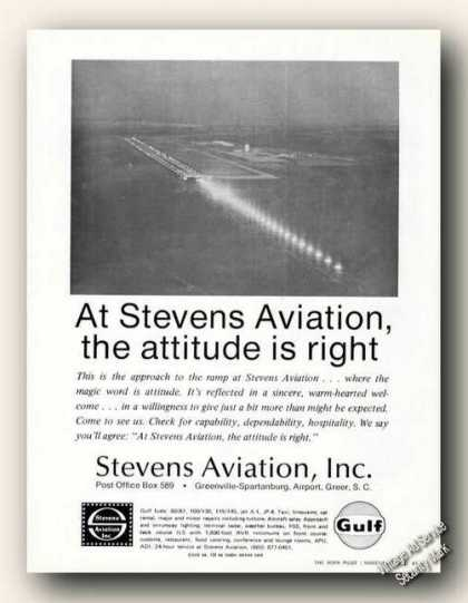 Stevens Aviation Aerial Photo Greenville Gulf (1971)