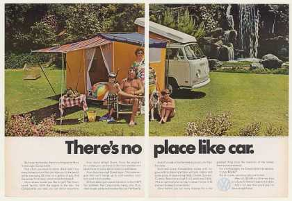 VW Volkswagen Campmobile No Place Like Car (1971)