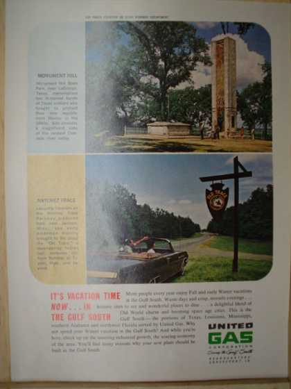 United Gas Corporation. Vacation now in the Gulf South AND the 1964 Rambler (1963)