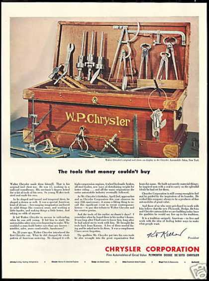 Walter Chrysler Tool Chest Car Corporation (1950)