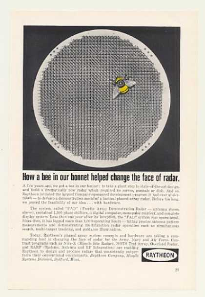 Raytheon FAD Ferrite Array Demonstration Radar (1966)