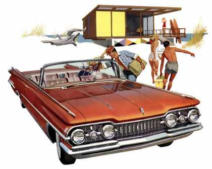 Oldsmobile 98 convertible (1959)