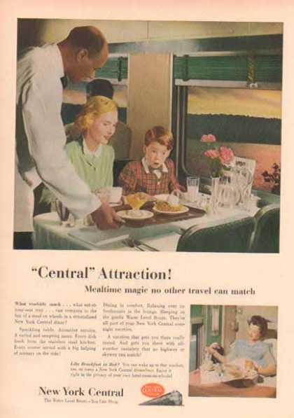 New York Central Railroad – Dinner Car (1952)