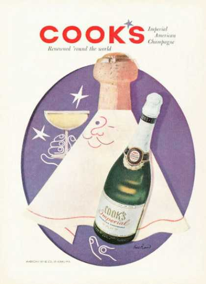 Cook's Imperial Champagne Bottle (1955)