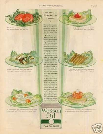 Wesson Oil Color (1928)