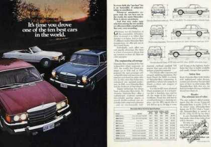 "Mercedes-benz Photos ""One of the Ten Best"" (1975)"