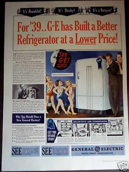 G-e Prize Winning Beauty New Refrigerator (1939)