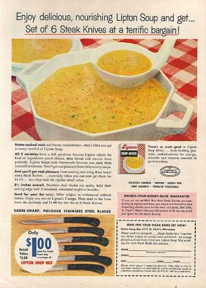 Lipton&#8217;s Soup Mixes (1959)