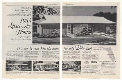General Development Space-Age Florida Homes 2-P (1962)