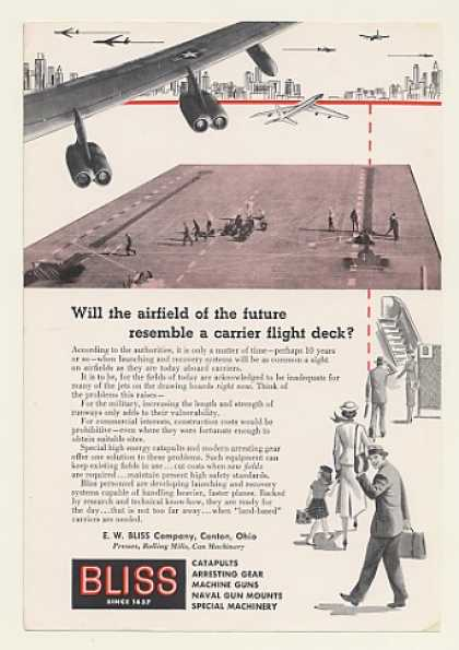 Future Airfield Carrier Flight Deck Bliss (1954)