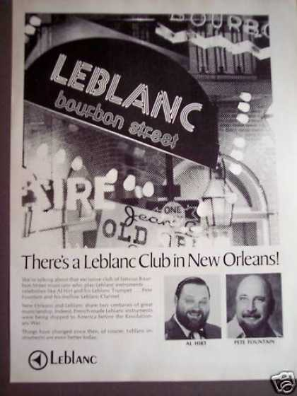Leblanc Club In New Orleans Al Hirt (1975)