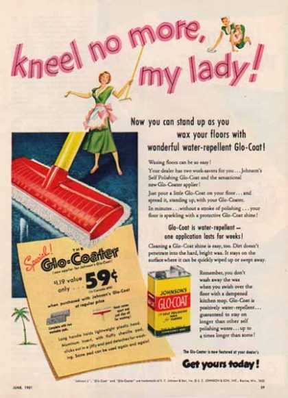 Johnsons' Glo Coat Wax – Racine, Wisconsin (1951)
