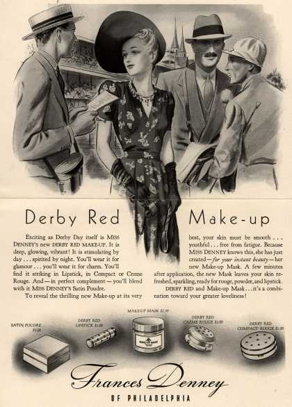 Frances Denney's Derby Red Make-Up – Derby Red Make-up (1938)