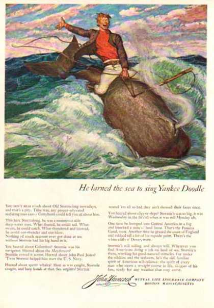 John Hancock Insurance of Boston Mass. – Yankee Doodle (1949)
