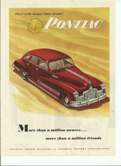 Red Pontiac Sedan (1946)