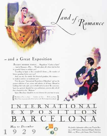 International Exposition Barcelona