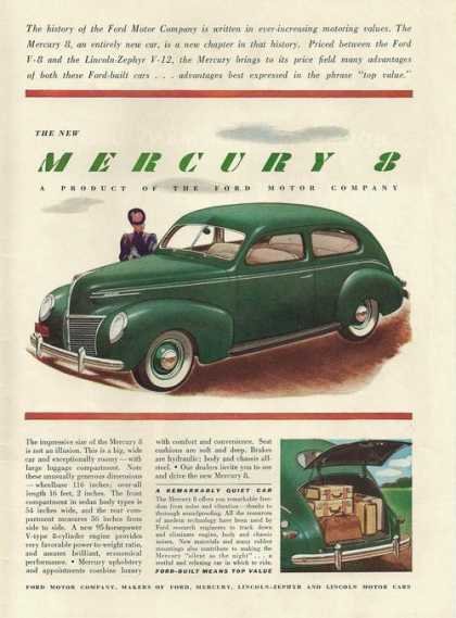 Ford Mercury 8 Green Car (1939)