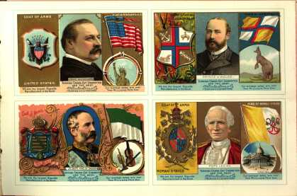 W. Duke Sons & Co. – The Rulers, Flags, Coats of Arms – Image 4 (1888)