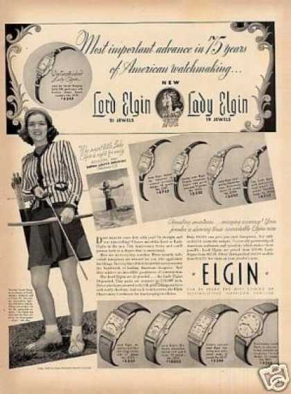 Elgin Watches (1939)