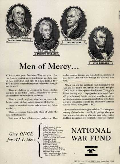 National War Fund – Men of Mercy... (1943)