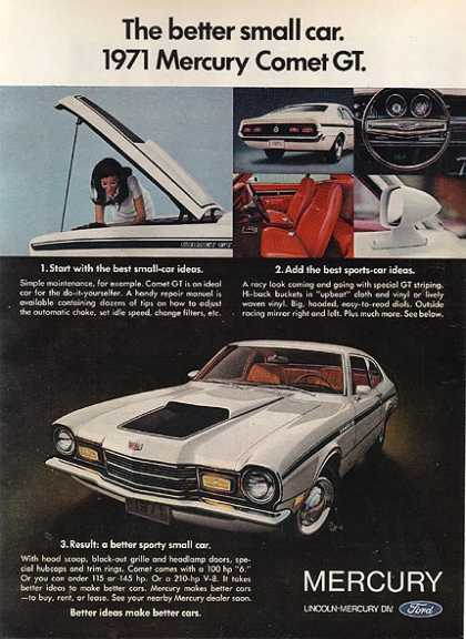 Ford's Mercury Comet (1970)