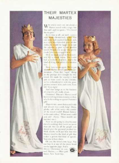 Martex Towel Ermine of the Towel World (1959)
