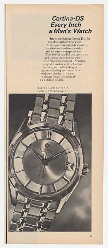 Certina-DS Real Man's Watch (1963)