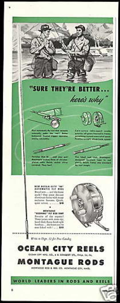 Ocean City Reels Montague Rods Better (1950)
