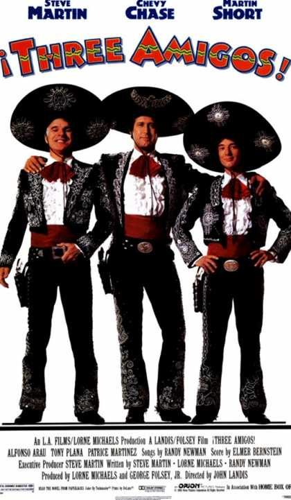The Three Amigos (1986)